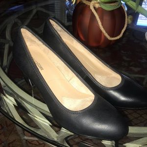 Black Naturalizer Heels